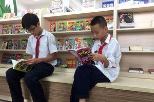 Khánh thành Thư viện Tô Hoài tại Trường THCS Nghĩa Tân