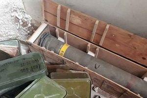 SAA phát hiện kho vũ khí khủng với lượng lớn tên lửa do Mỹ chế tạo