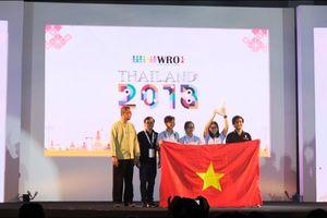 Đoàn Việt Nam giành giải Future Innovator tại cuộc thi Robotics quốc tế