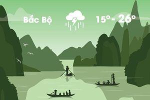 Thời tiết ngày 19/11: Bắc Bộ chuyển lạnh, Nam Bộ mưa lớn