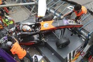 Nữ tay đua gãy cột sống sau vụ tại nạn ở Macau
