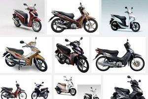 Giá xe máy Honda tăng mạnh