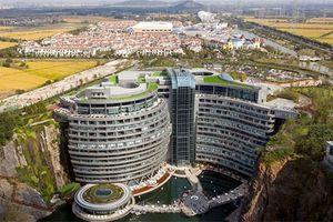 Ngắm khách sạn lòng đất 'độc' nhất Thế giới tại Thượng Hải