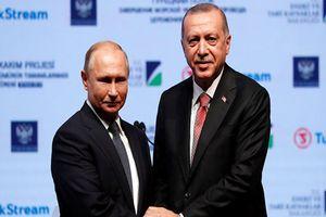 Tổng thống Putin dự lễ khánh thành dự án Dòng chảy Thổ Nhĩ Kỳ