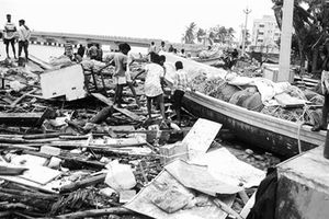 Ấn Độ: Trên 30 người thiệt mạng vì bão Gaja