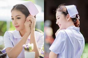 Cận cảnh nhan sắc quyến rũ của cô y tá Thái Lan bị sa thải vì quá xinh đẹp