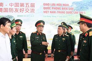 Giao lưu quốc phòng biên giới Việt-Trung: Không trình diễn, phô trương