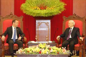 Việt Nam coi trọng củng cố, phát triển quan hệ Đối tác chiến lược toàn diện với Nga
