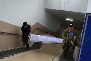 Kinh hoàng: Phát hiện xác chết trong hầm đi bộ Kim Liên
