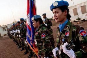 Những phụ nữ liều mạng giữ hòa bình ở nơi chết chóc nhất
