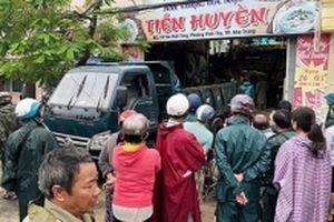 Đoàn giáo viên trong số nạn nhân sạt lở đất ở Nha Trang
