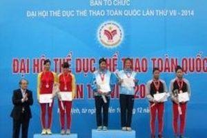 Khởi tranh môn rowing tại Đại hội Thể thao toàn quốc