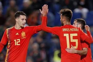 Đánh bại Bosnia, Tây Ban Nha vơi nỗi buồn bị loại ở bán kết Nations League