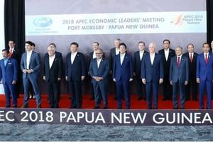 APEC 2018: Đằng sau bức ảnh 'bằng mặt nhưng không bằng lòng'
