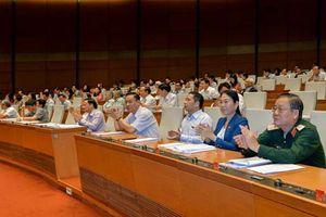 96,29% tổng số đại biểu đồng ý thông qua Luật Cảnh sát Biển Việt Nam
