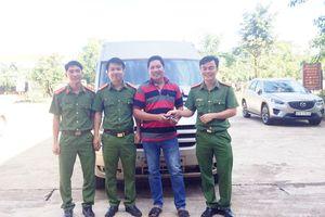 Trộm xe 16 chỗ ở Gia Lai, đem ra Quảng Trị bán