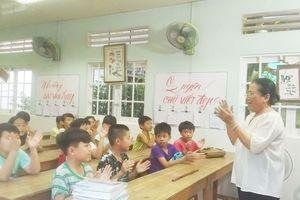 Bình dị lớp học hạnh phúc