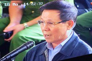Bị cáo Phan Văn Vĩnh khai thực hiện theo chỉ đạo của cấp trên