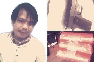 Một nghi phạm dùng súng lao vào Quỹ tín dụng nhân dân để cướp