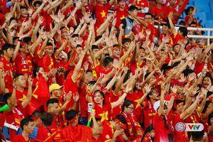 Việt Nam có lượng cổ động viên hùng hậu nhất tại AFF Cup 2018