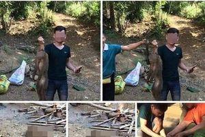 Xác định được thanh niên giết khỉ rồi khoe trên Facebook