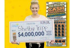 Nghe mẹ khuyên mua thử tờ vé số, cô gái trúng ngay 93 tỷ đồng