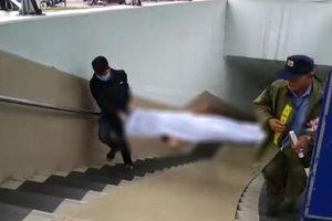 Hà Nội: Phát hiện thi thể người đàn ông trong hầm đi bộ Kim Liên