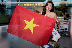 Người đẹp Việt rạng ngời lên đường đi thi Hoa hậu Siêu quốc gia 2018 ở Ba Lan
