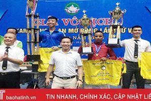 Hà Tĩnh xếp thứ 2 toàn đoàn Giải vô địch Karate Nghệ An mở rộng