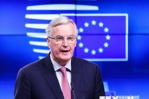 Bộ trưởng 27 thành viên EU ủng hộ dự thảo thỏa thuận Brexit