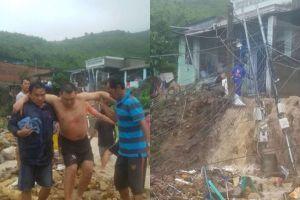 Khánh Hòa: Đang ăn sáng, bức tường đổ sập vào đoàn du lịch, vùi lấp nhiều người