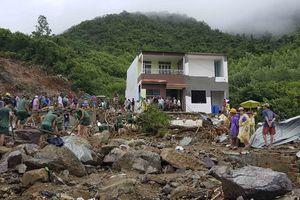 Phút vỡ hồ, lở núi kinh hoàng khiến 12 người chết ở Khánh Hòa