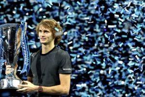 Thăng hoa tột đỉnh, Zverev hạ đẹp Djokovic để vô địch ATP Finals