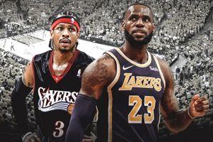 LeBron James vượt qua kỷ lục của Allen Iverson sau trận đấu hủy diệt Miami Heat