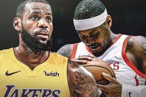 LeBron lên tiếng về khả năng Anthony đầu quân LA Lakers
