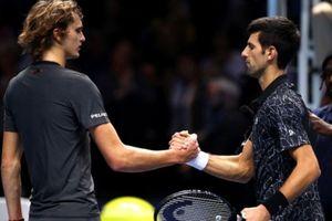 'Cám ơn Djokovic vì nhường danh hiệu vô địch ATP Finals cho tôi'