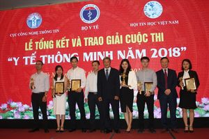 Giải pháp của VNPT đạt giải cao trong cuộc thi Y tế thông minh 2018