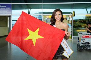 Minh Tú rạng rỡ tại sân bay, lên đường sang Ba Lan dự thi Hoa hậu Siêu quốc gia 2018