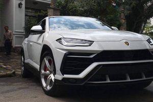 Lamborghini Urus đầu tiên yên vị trong gara của đại gia 'Minh Nhựa'