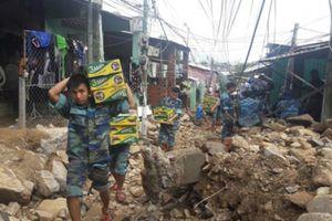 Khánh Hòa: Tích cực khắc phục hậu quả mưa bão