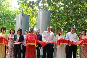 Khánh thành công trình nước sạch Mùn Chung: Hết rùng mình khi dùng nước sinh hoạt