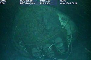 Tìm thấy tàu ngầm Argentina chở 44 thủy thủ mất tích