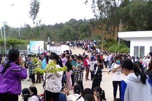 Thanh Hóa: Hơn 3.800 công nhân Công ty TNHH Ny Hoa Việt đình công đòi quyền lợi