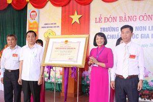 Thái Nguyên: Trường mầm non Linh Sơn và những bước tiến vững chắc
