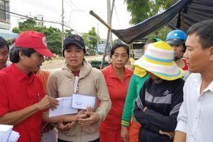 Hỗ trợ các gia đình bị thiệt hại do mưa lũ tại tỉnh Khánh Hòa