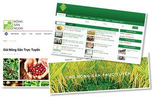 Không dễ mua nông sản trực tuyến