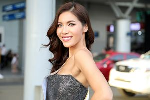 Minh Tú rạng rỡ lên đường dự thi Miss Supranational 2018