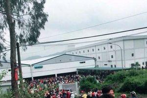 Gần 3.800 công nhân đình công đòi quyền lợi ở Thanh Hóa