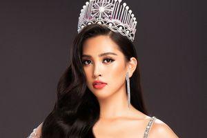 Ngất ngây với vẻ lộng lẫy của Hoa hậu Tiểu Vy khi diện đầm dạ hội