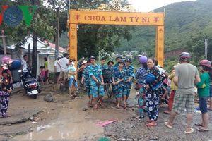 Nha Trang có nhiều khu dân cư gặp nguy hiểm khi mưa lớn